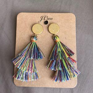 J Crew colorful earrings